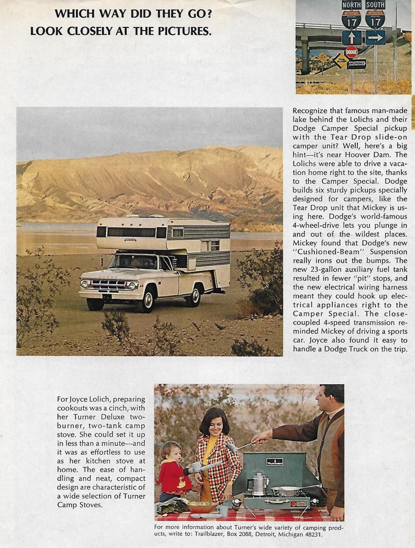 1969 Dodge - Mickey Lolich - Trailblazer Sweepstakes - Page 4