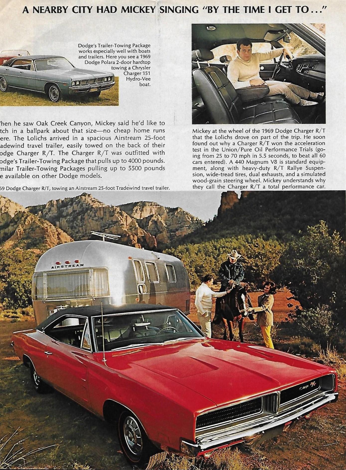 1969 Dodge - Mickey Lolich - Trailblazer Sweepstakes - Page 5