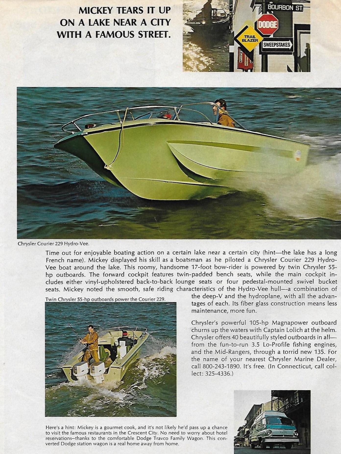 1969 Dodge - Mickey Lolich - Trailblazer Sweepstakes - Page 6