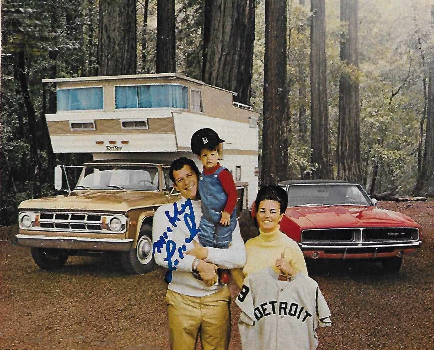 After the 1968 World Series, Dodge sent MVP Lolich on a 10-day camping trip—or so it seemed
