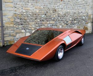 1970 Lancia Stratos HF Zero Front Three-Quarter