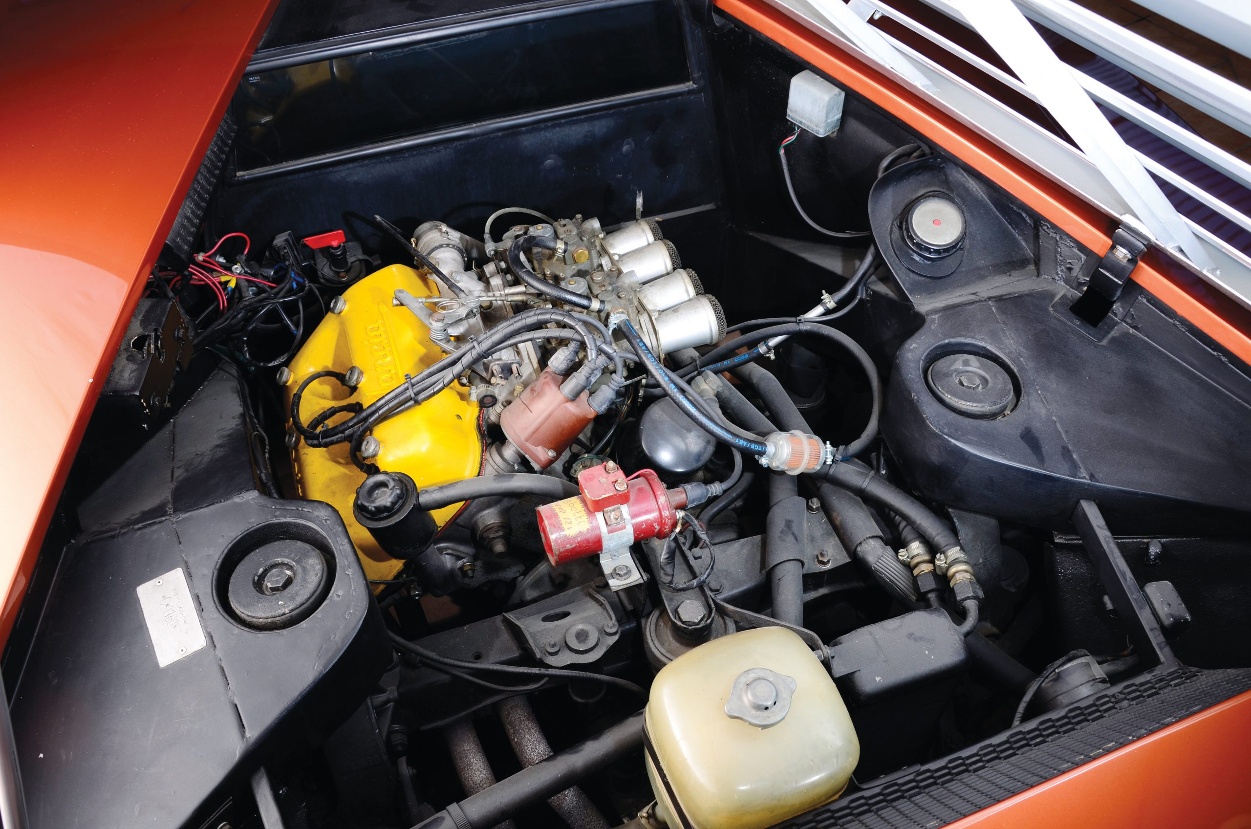 1970 Lancia Stratos HF Zero Engine