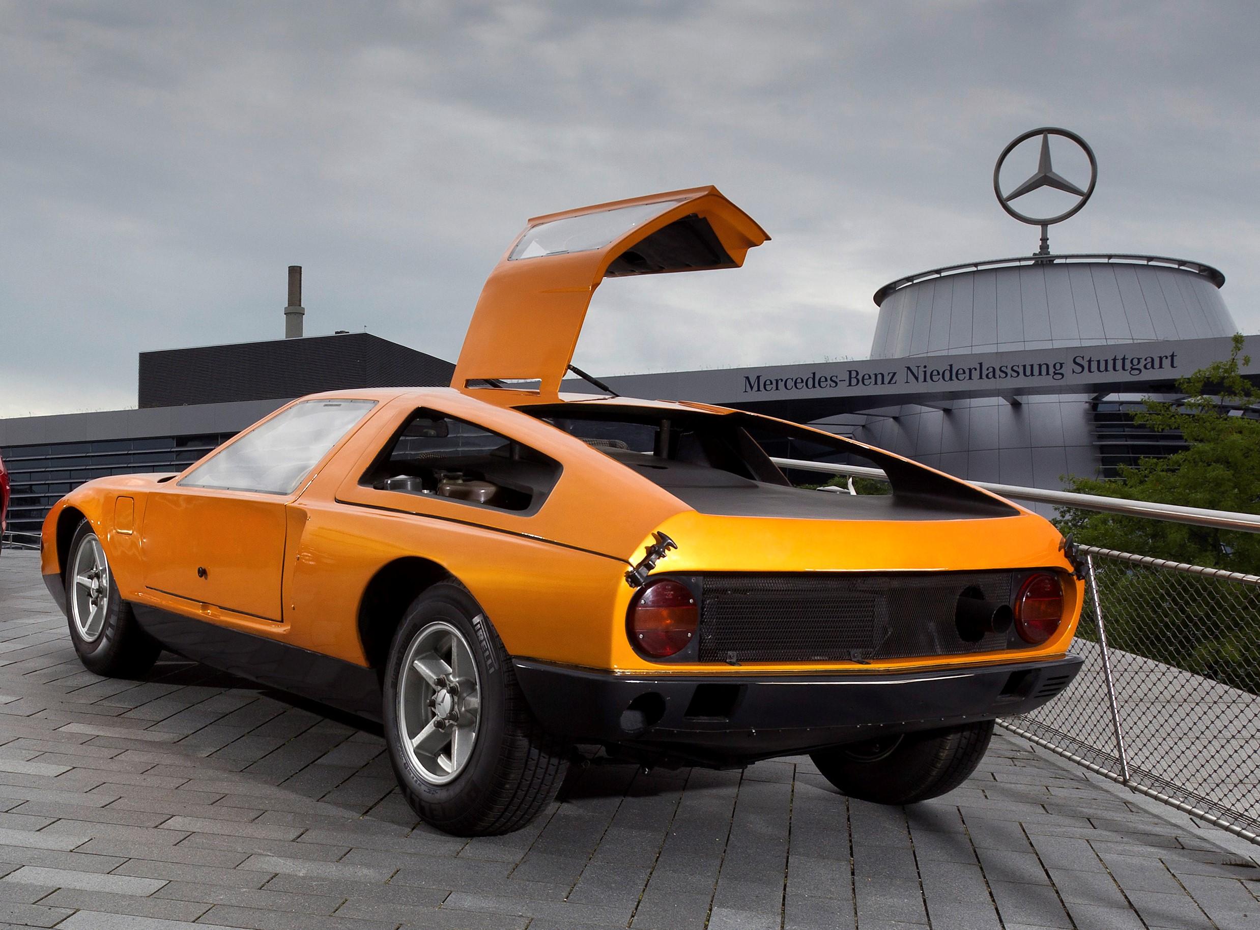 1970 Mercedes-Benz C 111-II full rear view