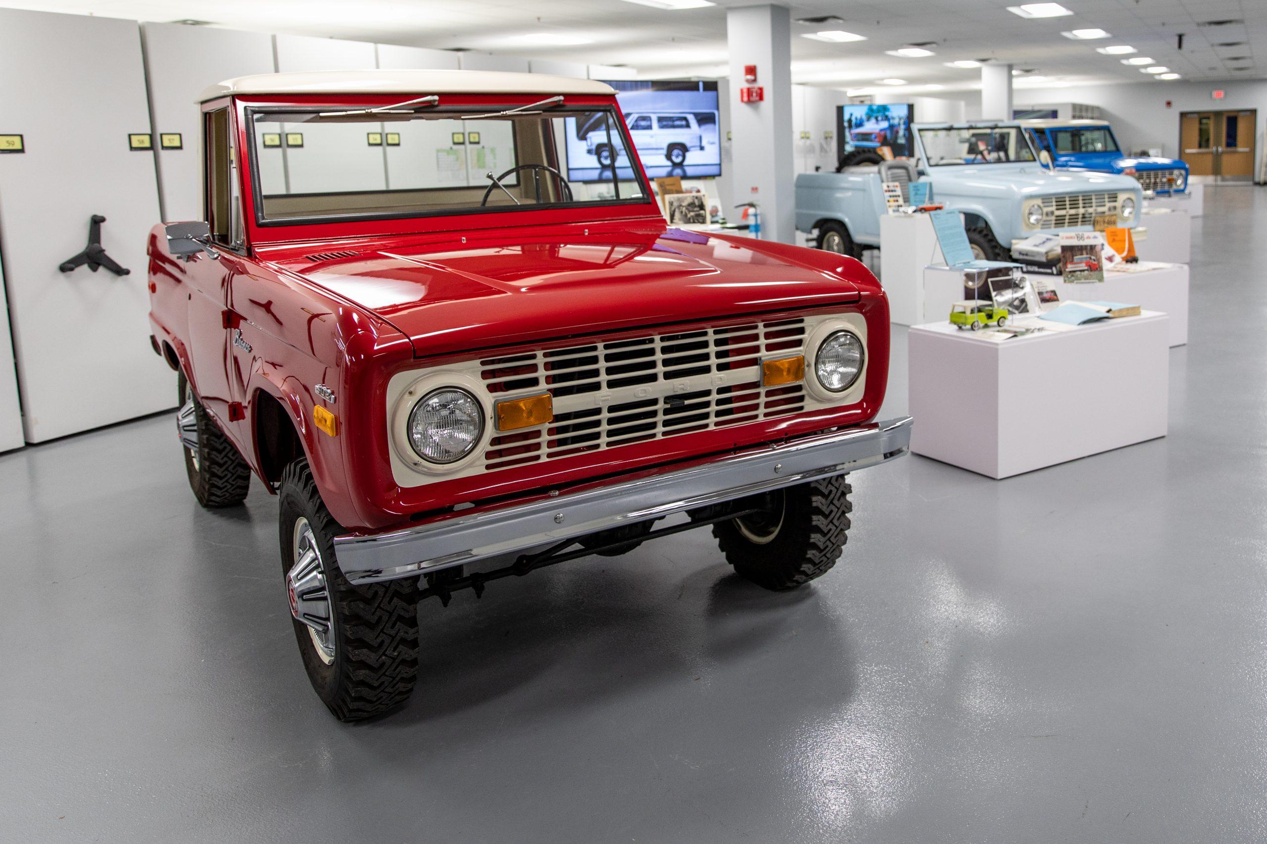 1970 Ford Bronco wagon
