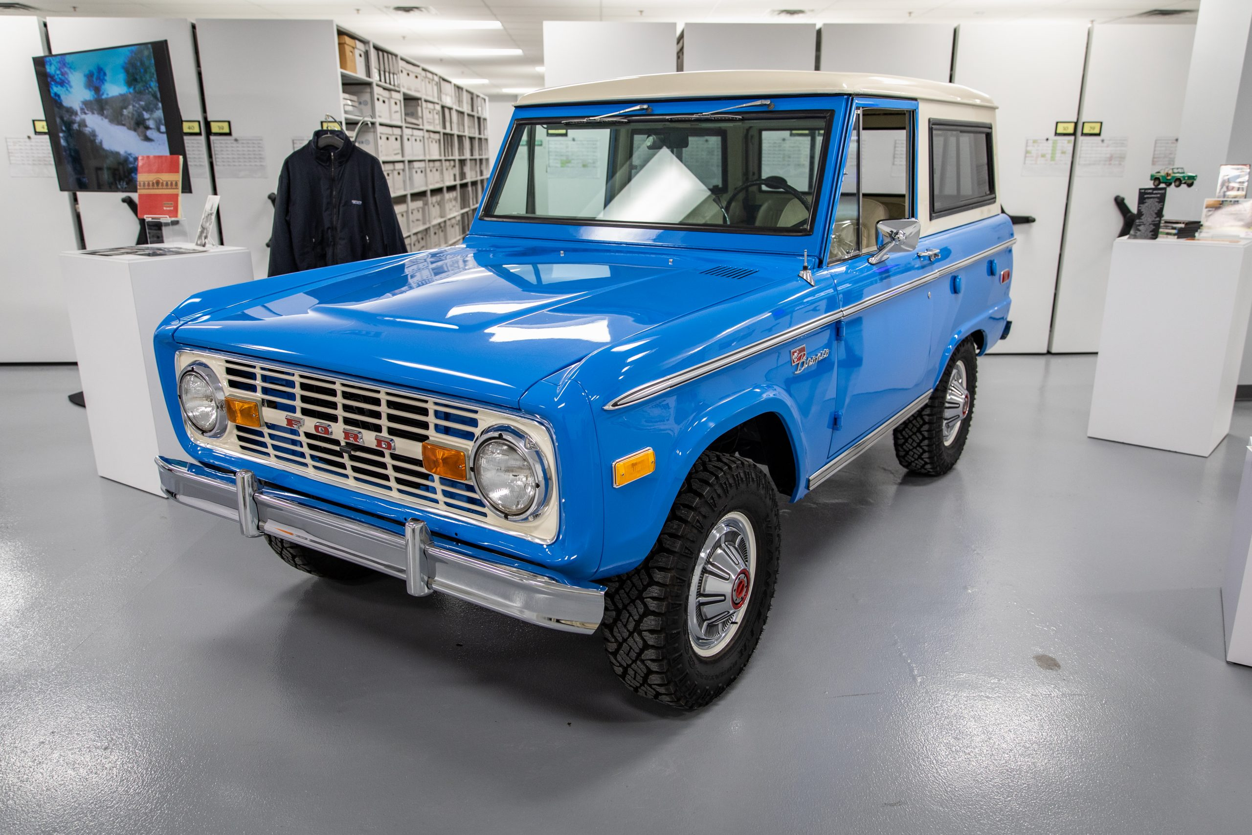 1973 Ford Bronco archive