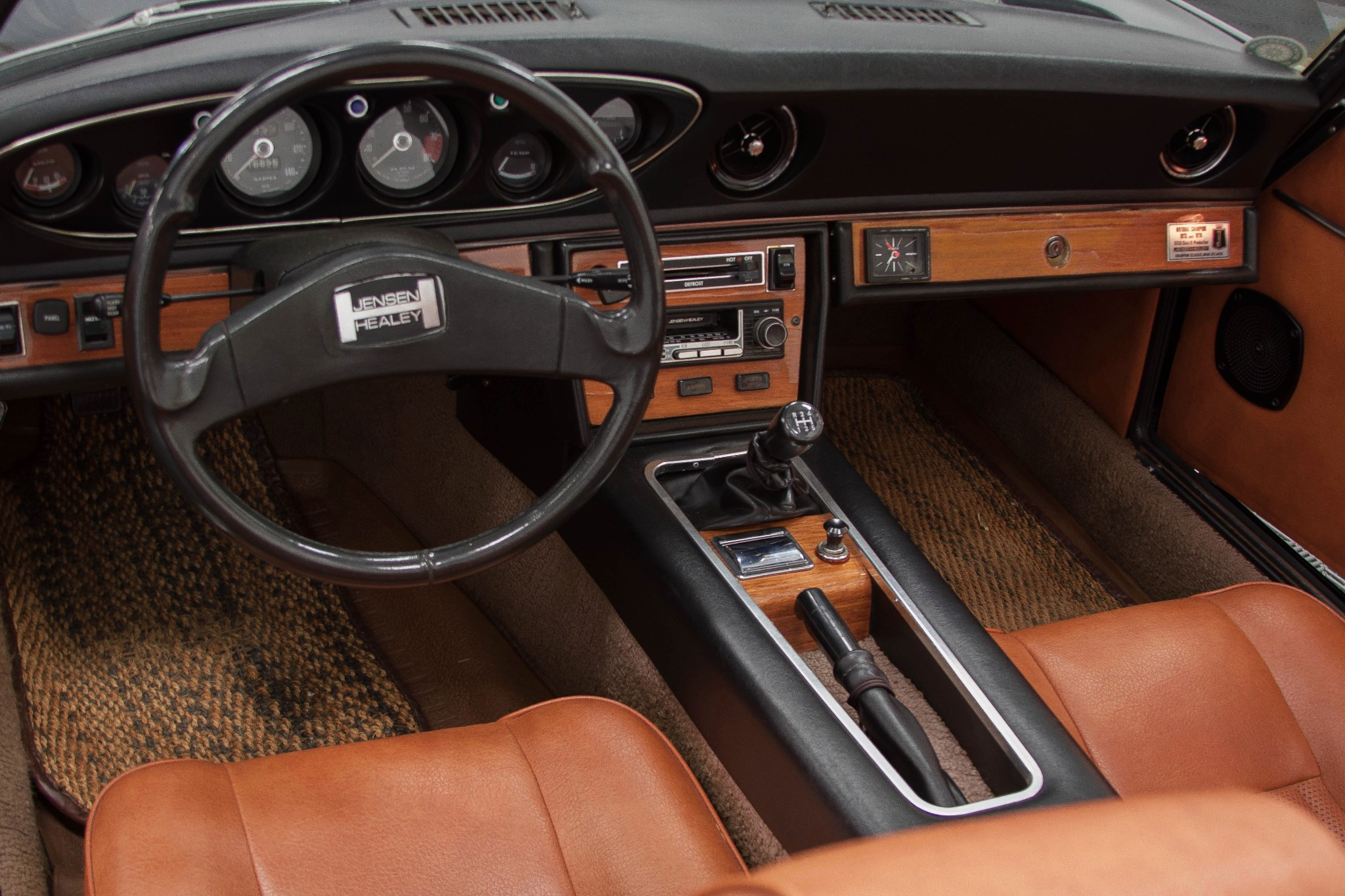 Jensen Healey JH5 interior