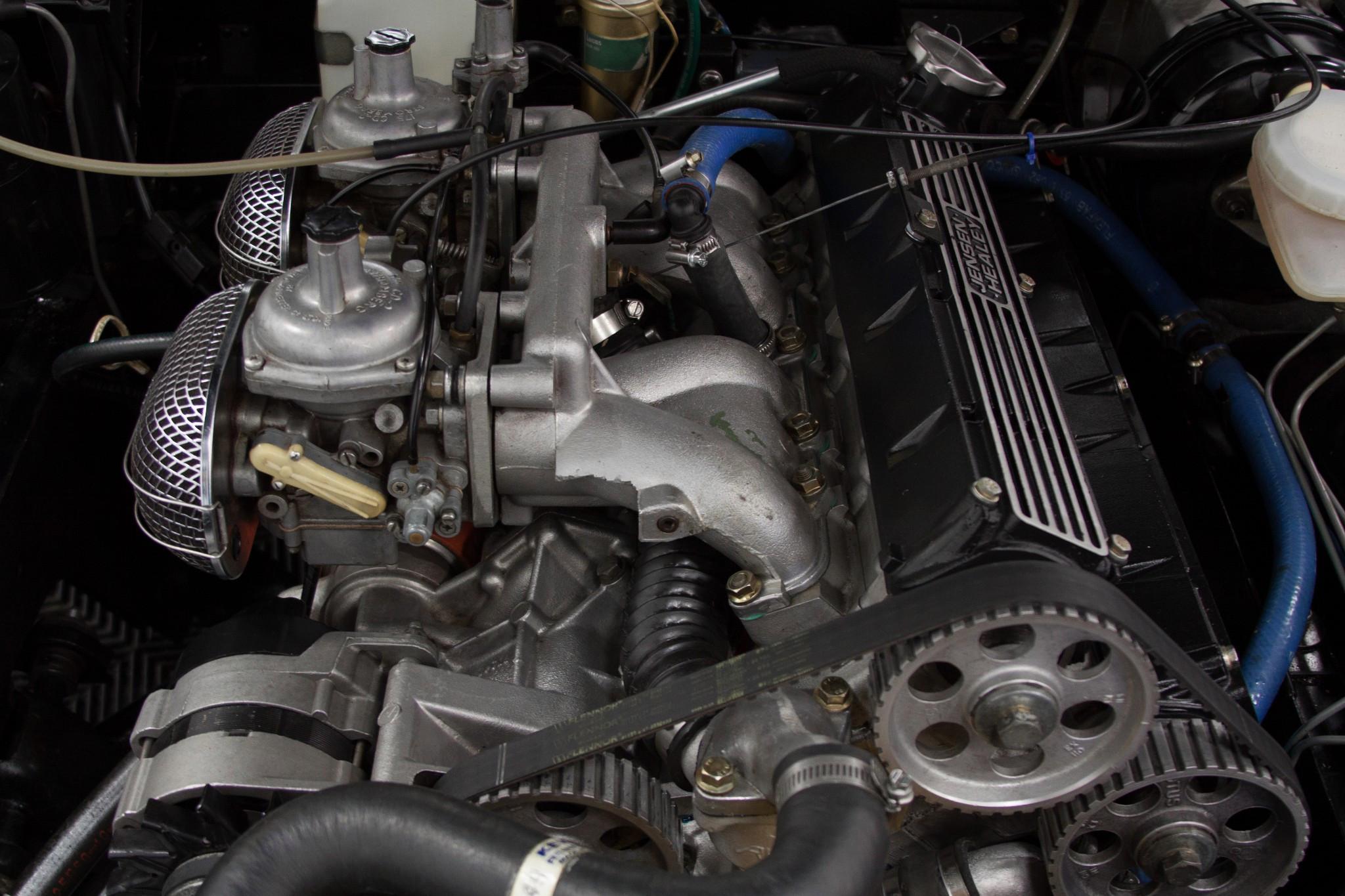 Jensen Healey JH5 engine front