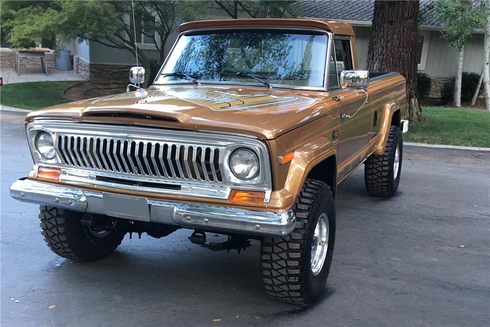 1978 Jeep pickup golden eagle