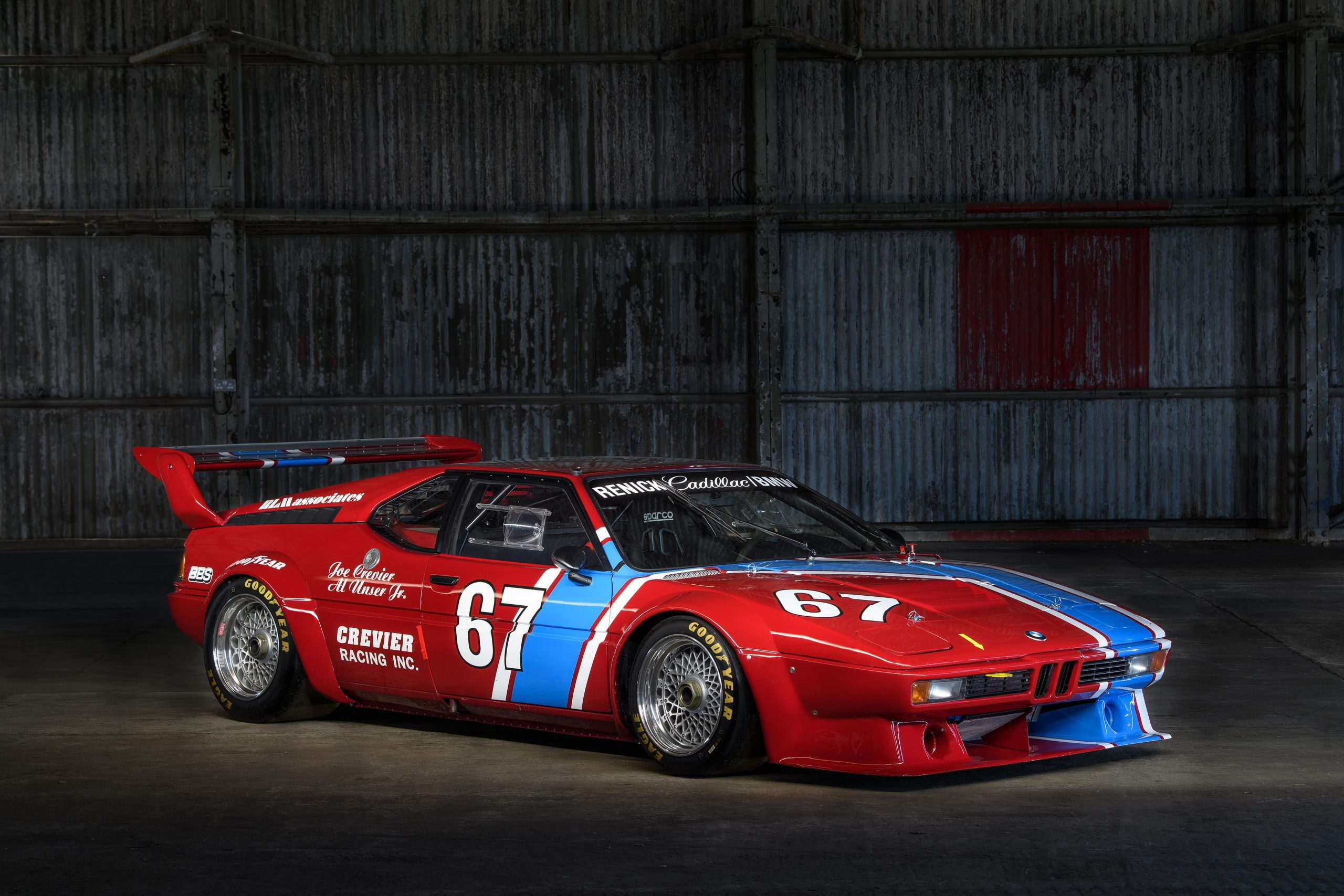 BMW M1 Procar front three-quarter