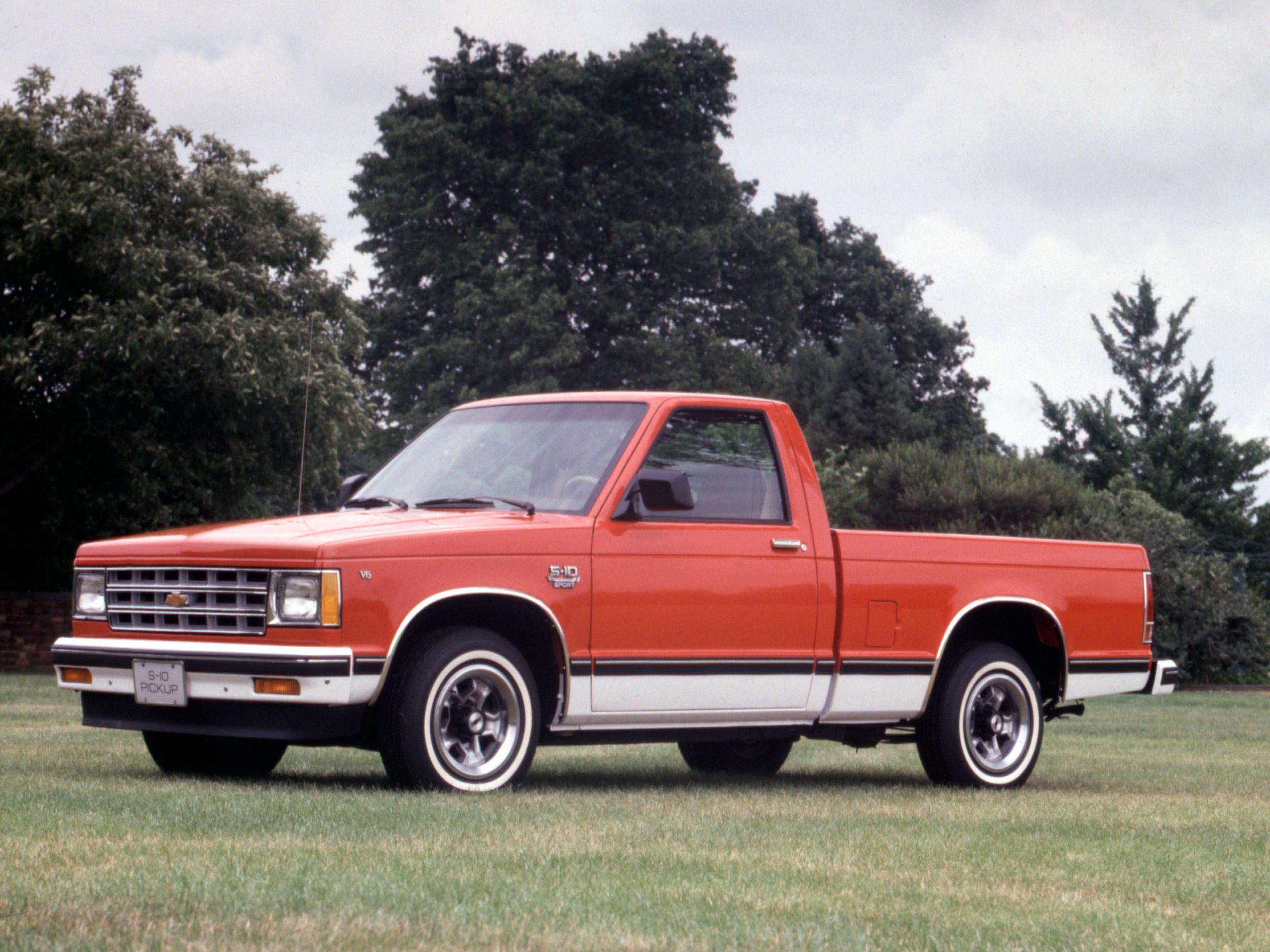 1982 Chevrolet S-10 Sport Pickup