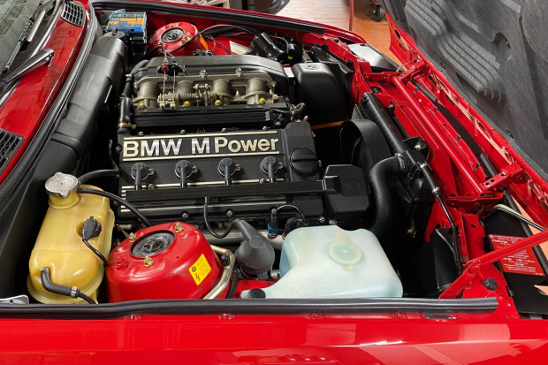 1988 BMW M3 engine
