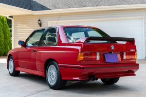 1988 BMW M3 rear three quarter