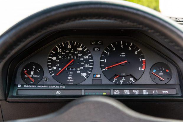 1988 BMW M3 gauges