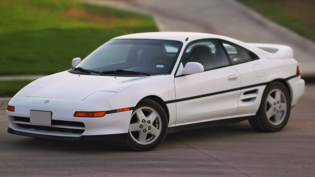 1993 Toyota MR2 Hardtop Front Three-Quarter