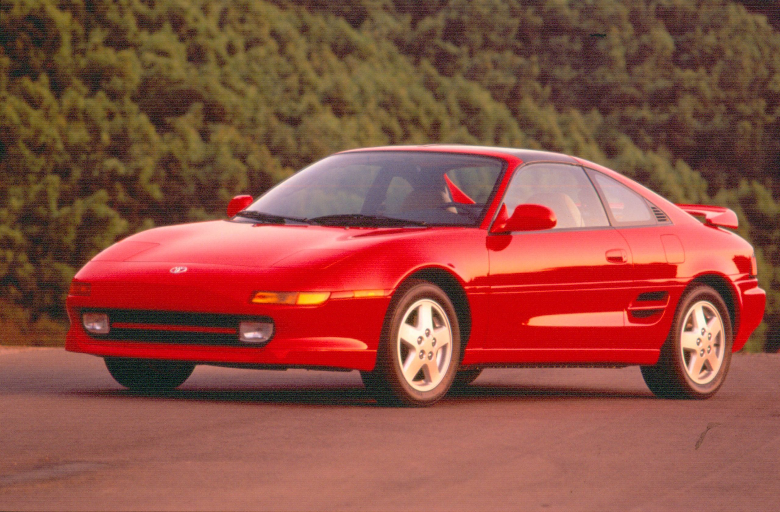 1994 MR2 Red Front Three-Quarter