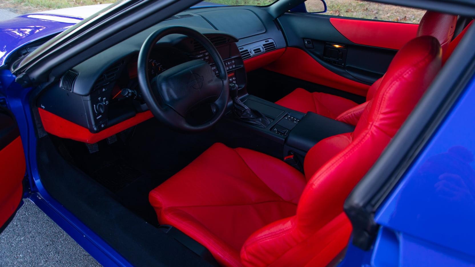 1996 Chevrolet Corvette Grand Sport Coupe Interior