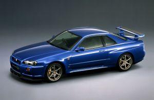 1999 Skyline GT-R V spec front three-quarter