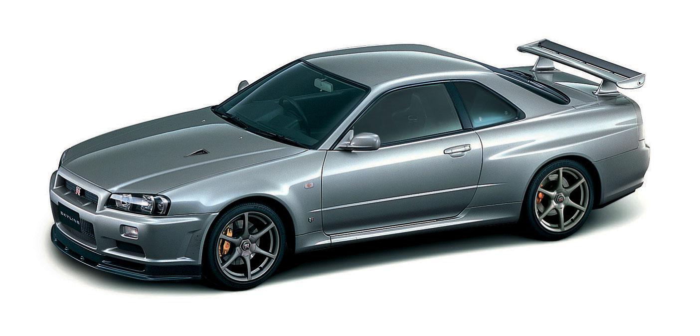 2002 Skyline GT-R V spec front three-quarter