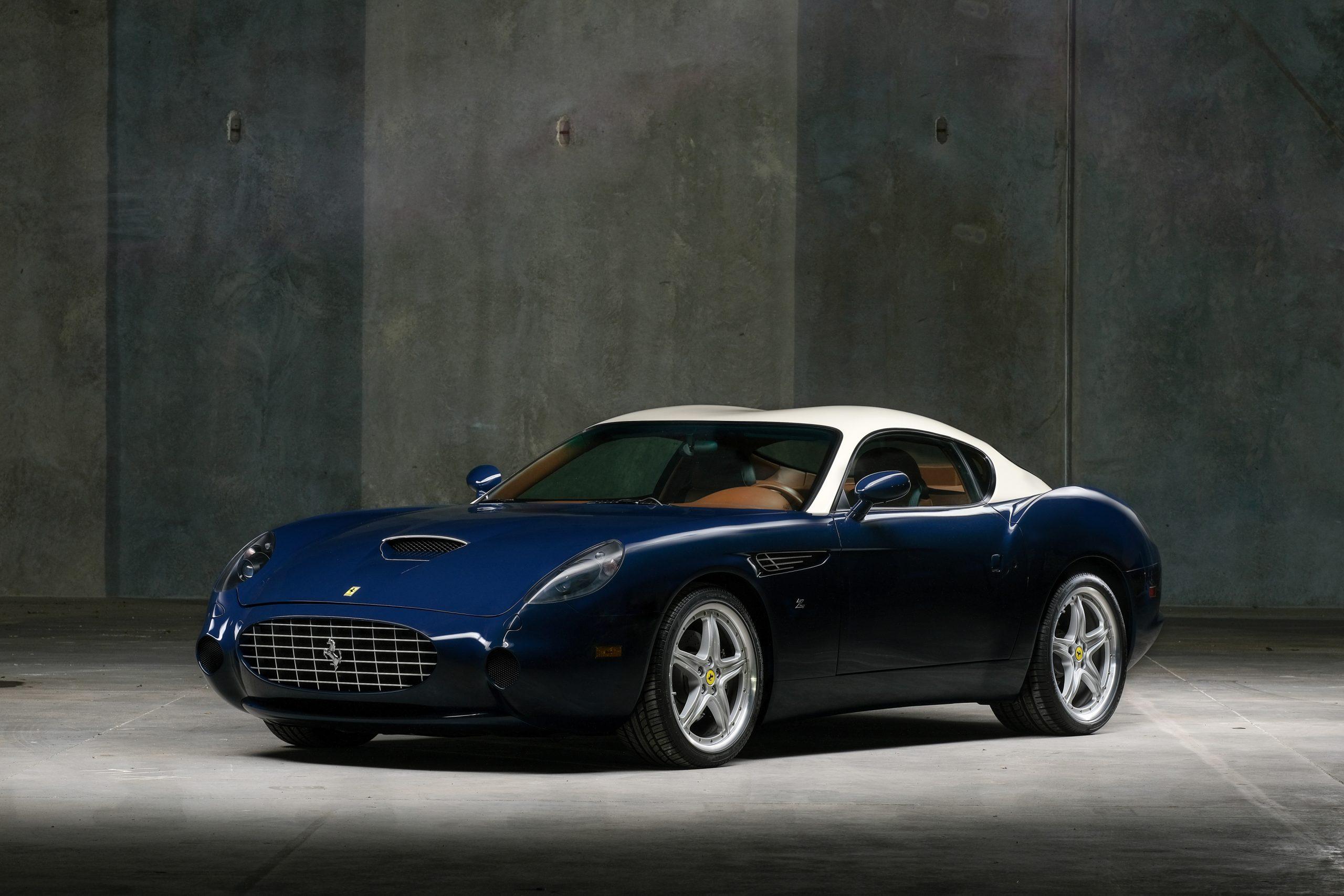 2005 Ferrari 575 GTZ Zagato front three quarter