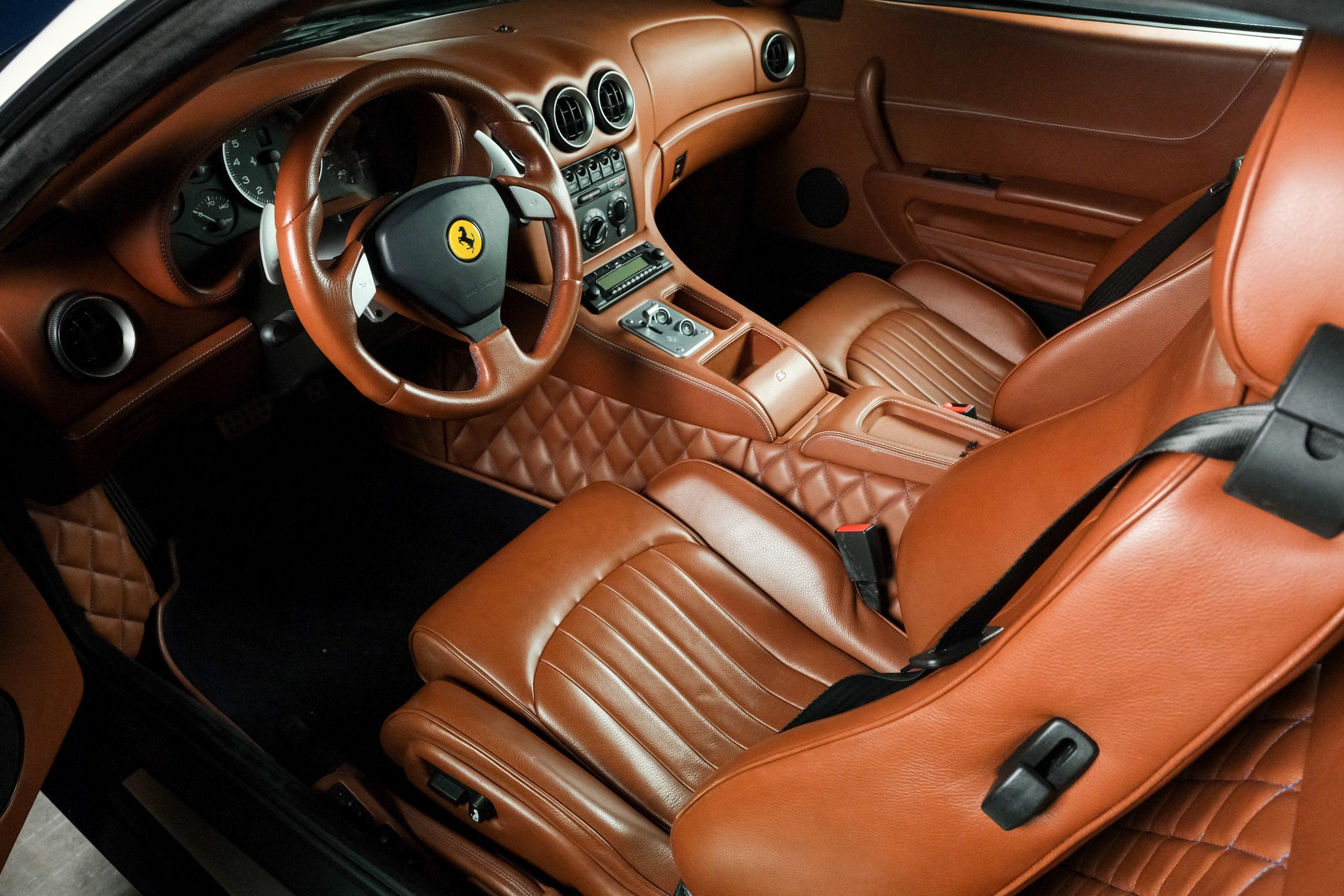 2005 Ferrari 575 GTZ Zagato interior