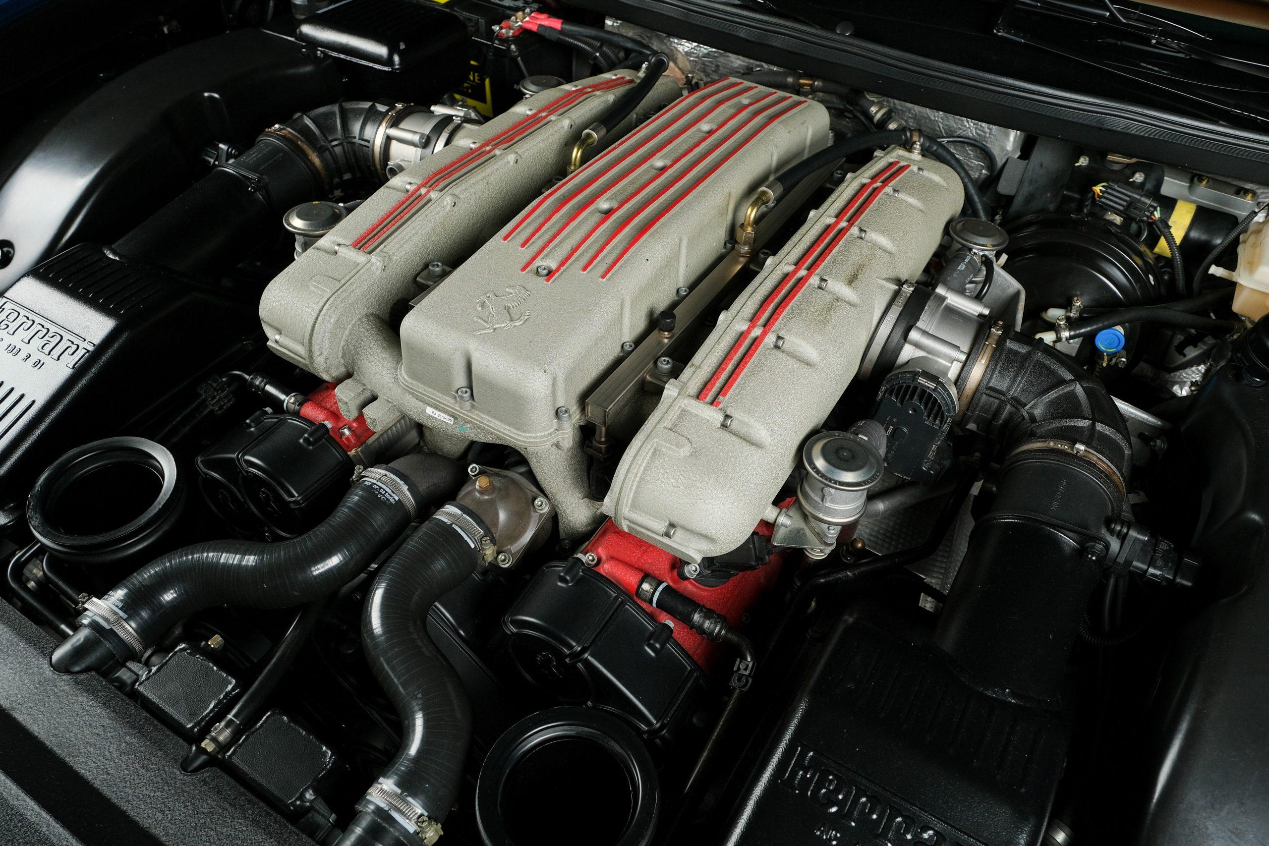 2005 Ferrari 575 GTZ Zagato engine