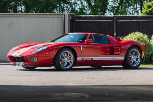 Red Ford GT Front Three-Quarter