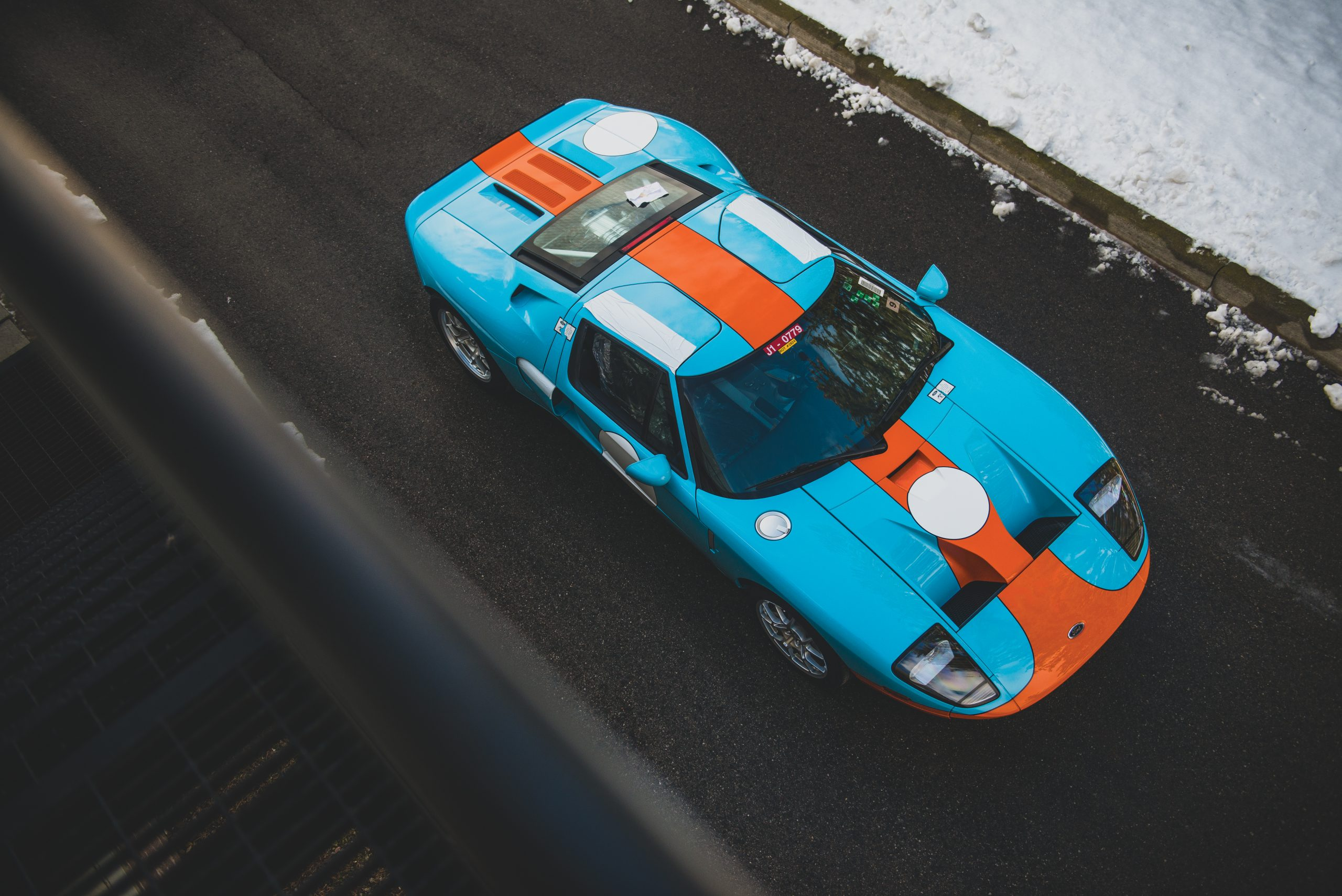 2006 Ford GT Heritage overhead