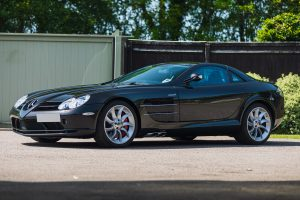 Mercedes-Benz SLR McLaren Coupe Front Three-Quarter