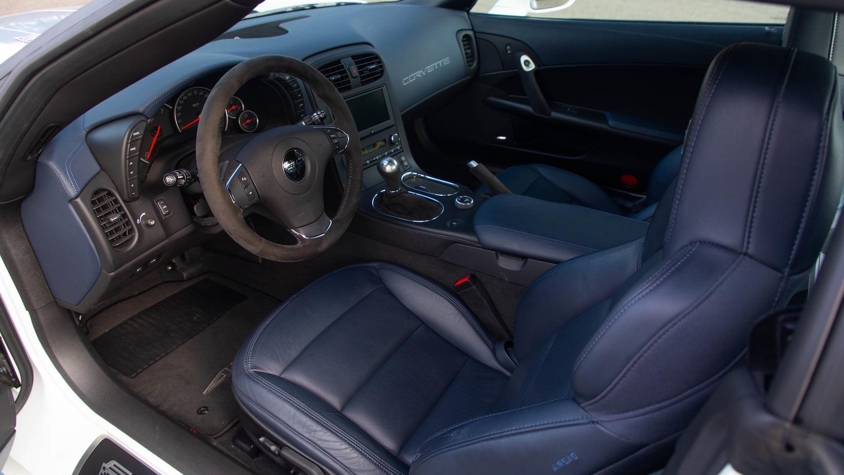 60th Anniversary 427 Convertible Interior