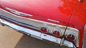 1962 chevrolet impala SS taillights
