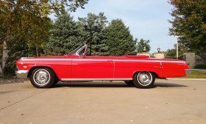 1962 chevrolet impala SS profile