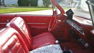1962 chevrolet impala SS interior