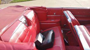 1962 chevrolet impala SS back seat