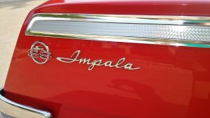 1962 chevrolet impala SS badge