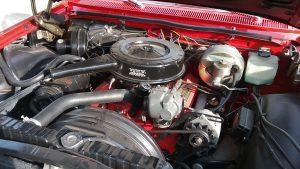 1962 chevrolet impala SS engine bay