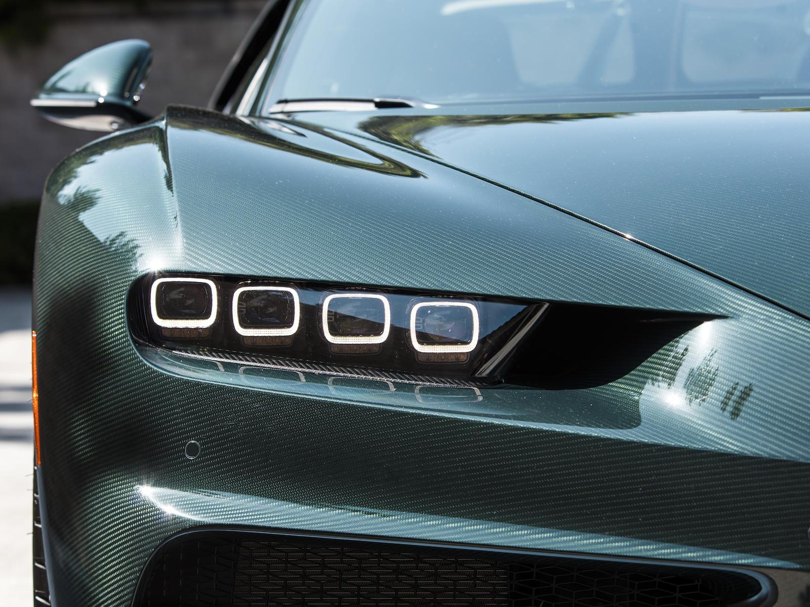 Bugatti Chiron headlight