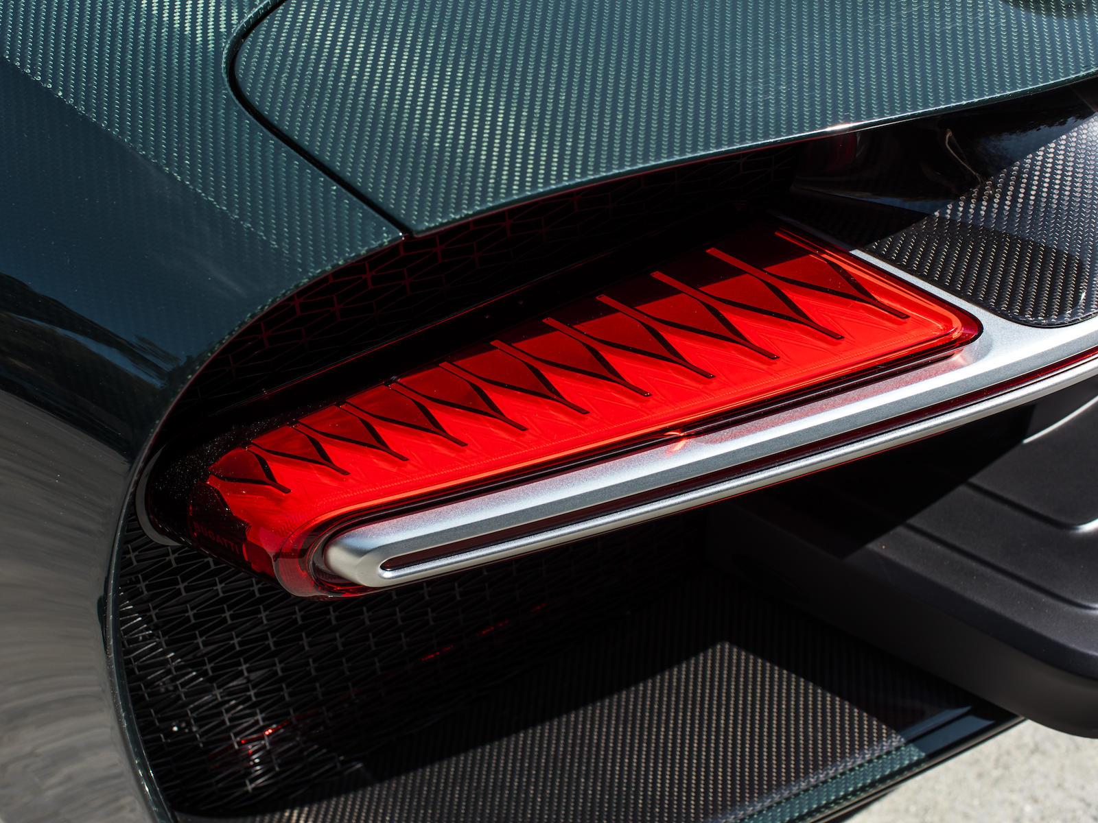 Bugatti Chiron taillight