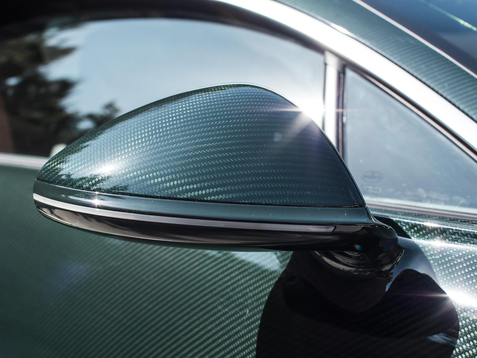 Bugatti Chiron carbon fiber mirror