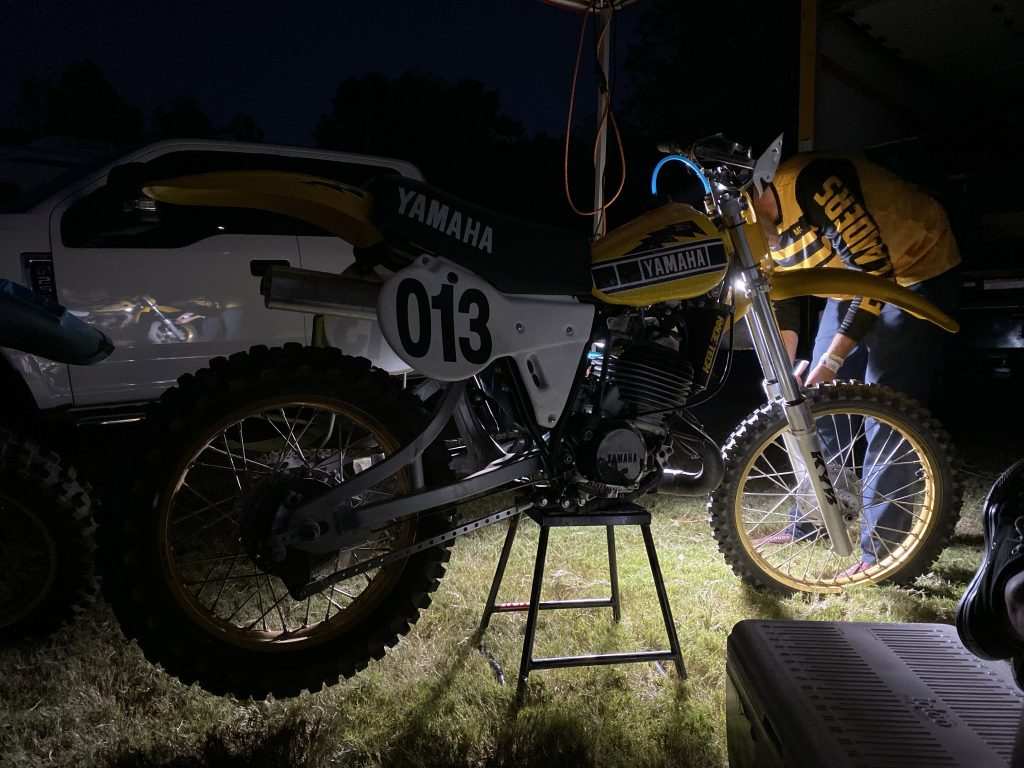 Barber Bike Maintenance After Dark