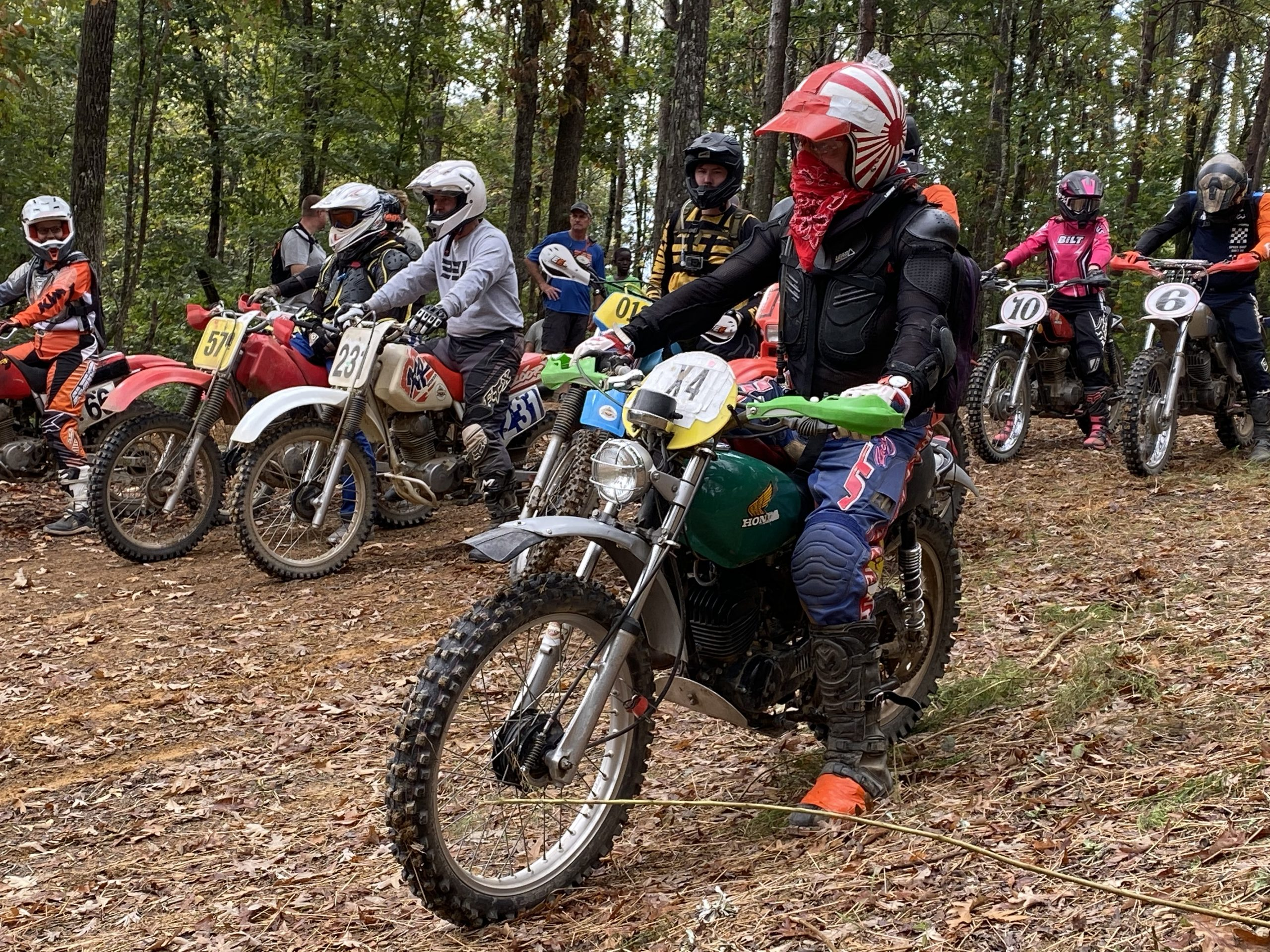 2019 Barber Vintage Festival Moto Riders Ready