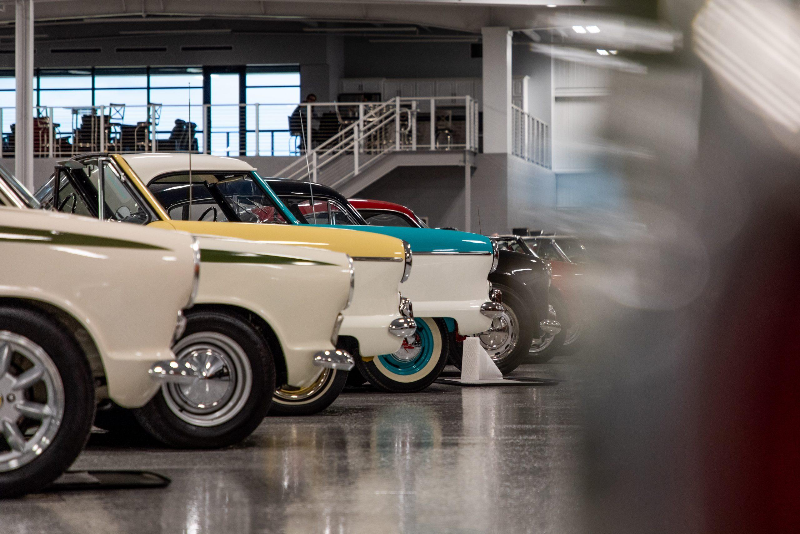 RM Sotheby's Elkhart Auction Cars Row