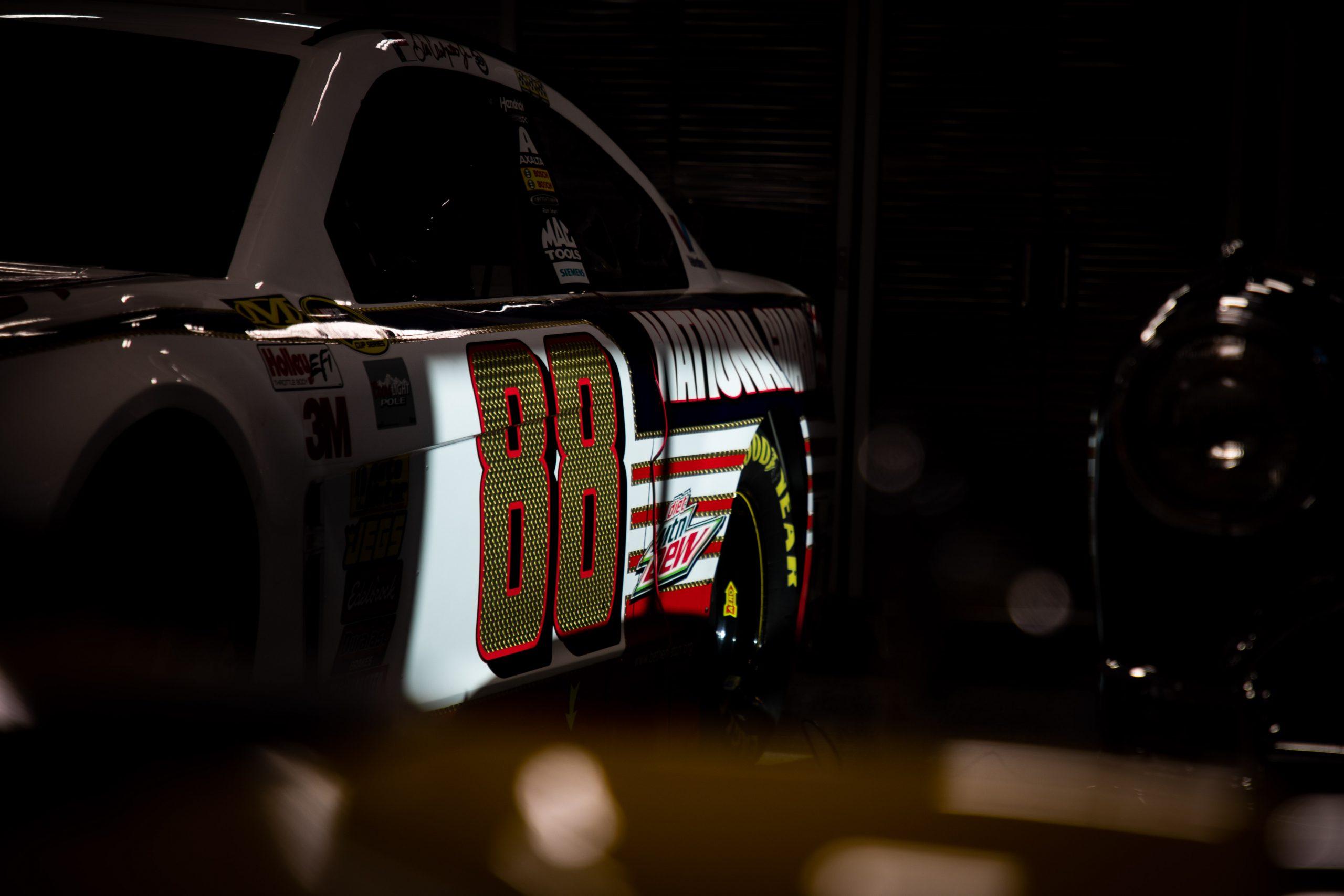 2012 Chevrolet Impala NASCAR Dale Earnhardt Jr Side