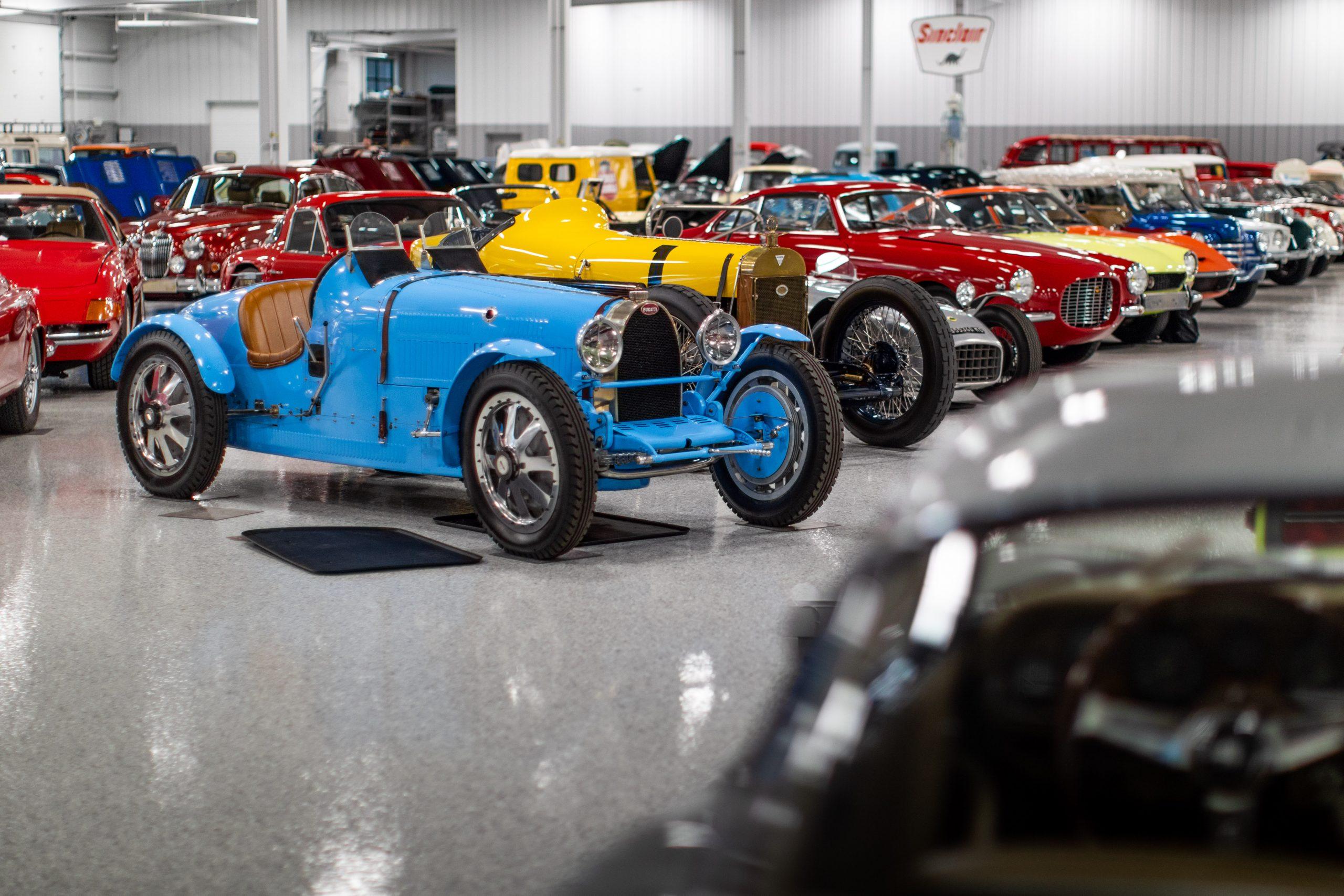 RM Sotheby's Fall Elkhart Vehicles Row Bugatti