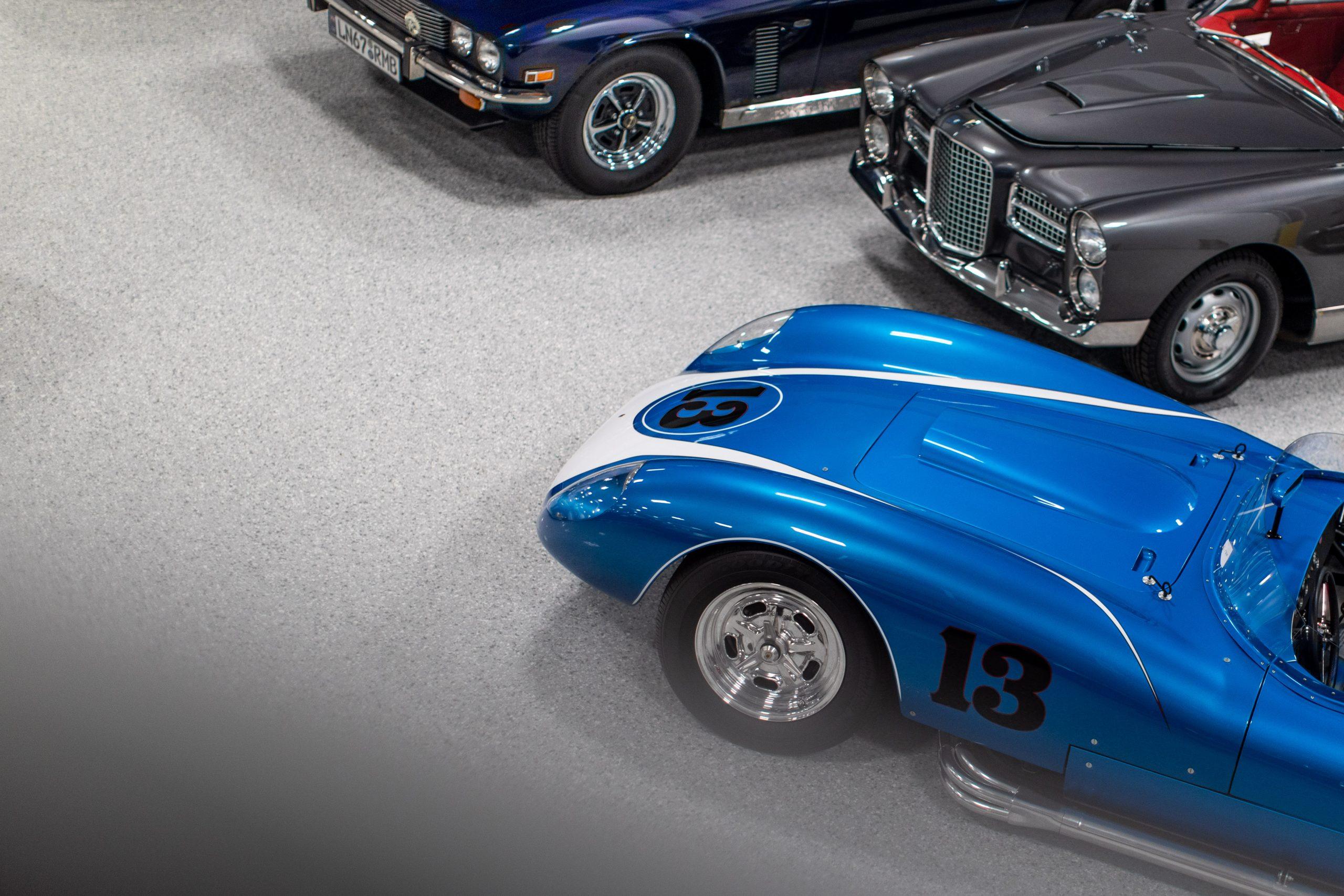 1958 Scarab Reproduction Car Overhead