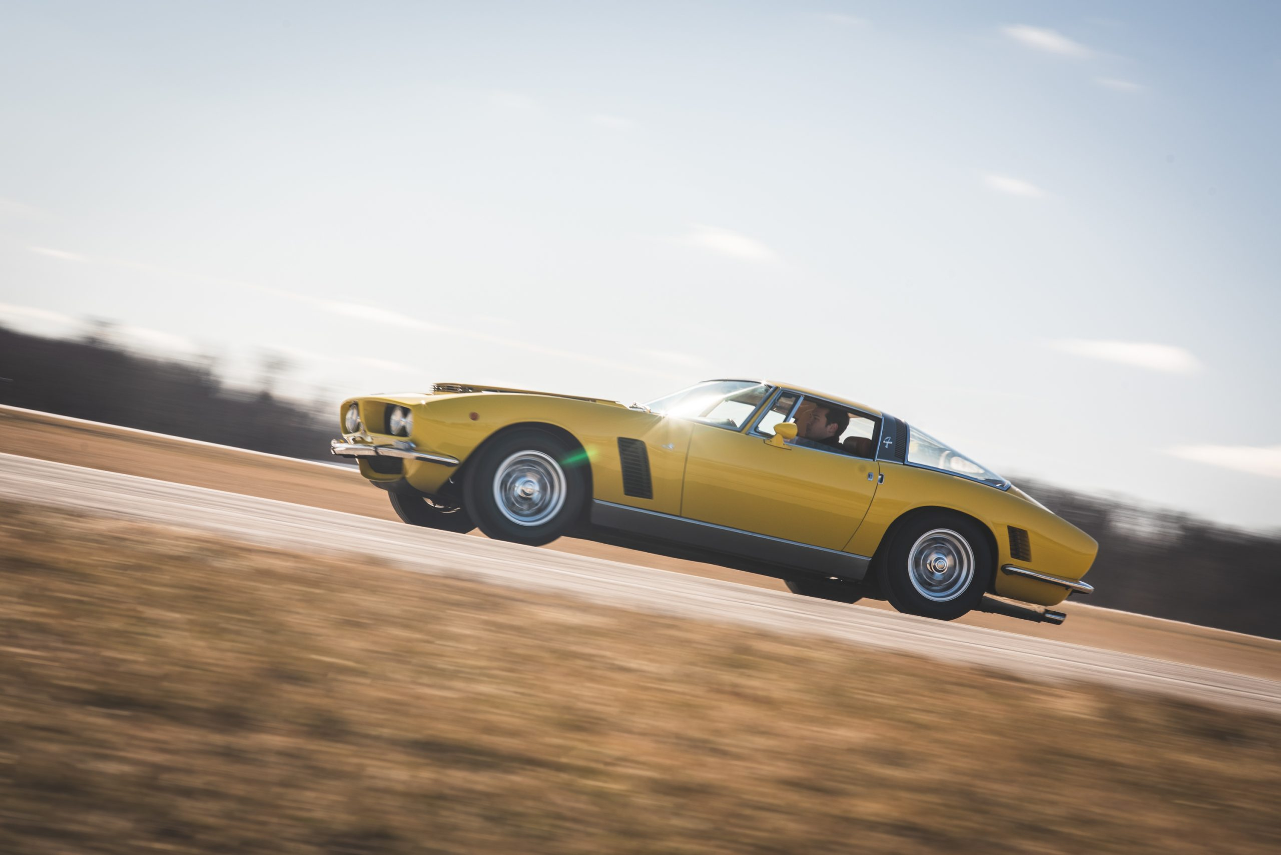 1968 Iso Grifo GL Series I by Bertone action