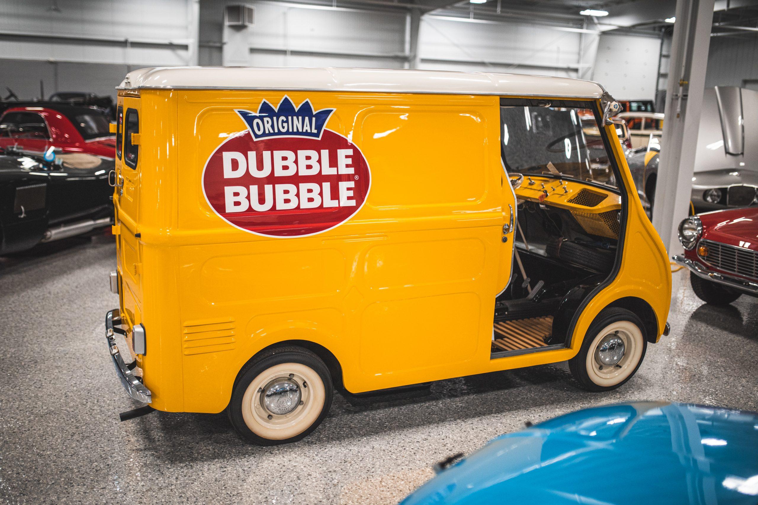 dubble bubble gum yellow van profile