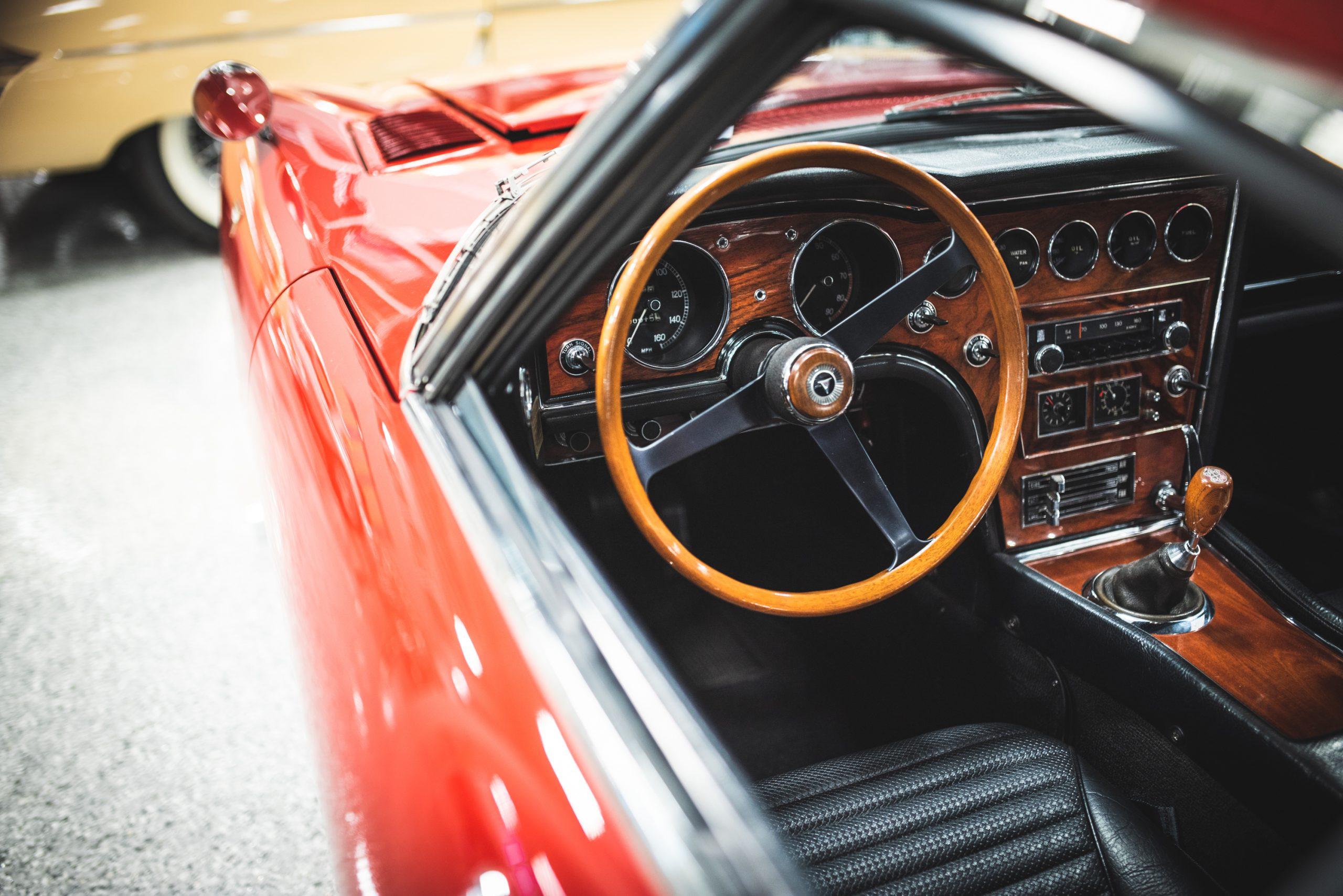 toyota 2000 gt interior steering wheel
