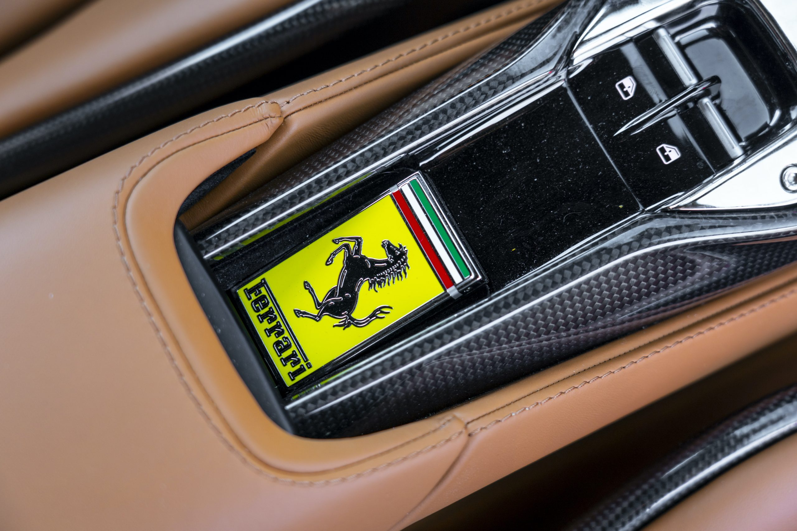 SF90 Stradale ferrari badge