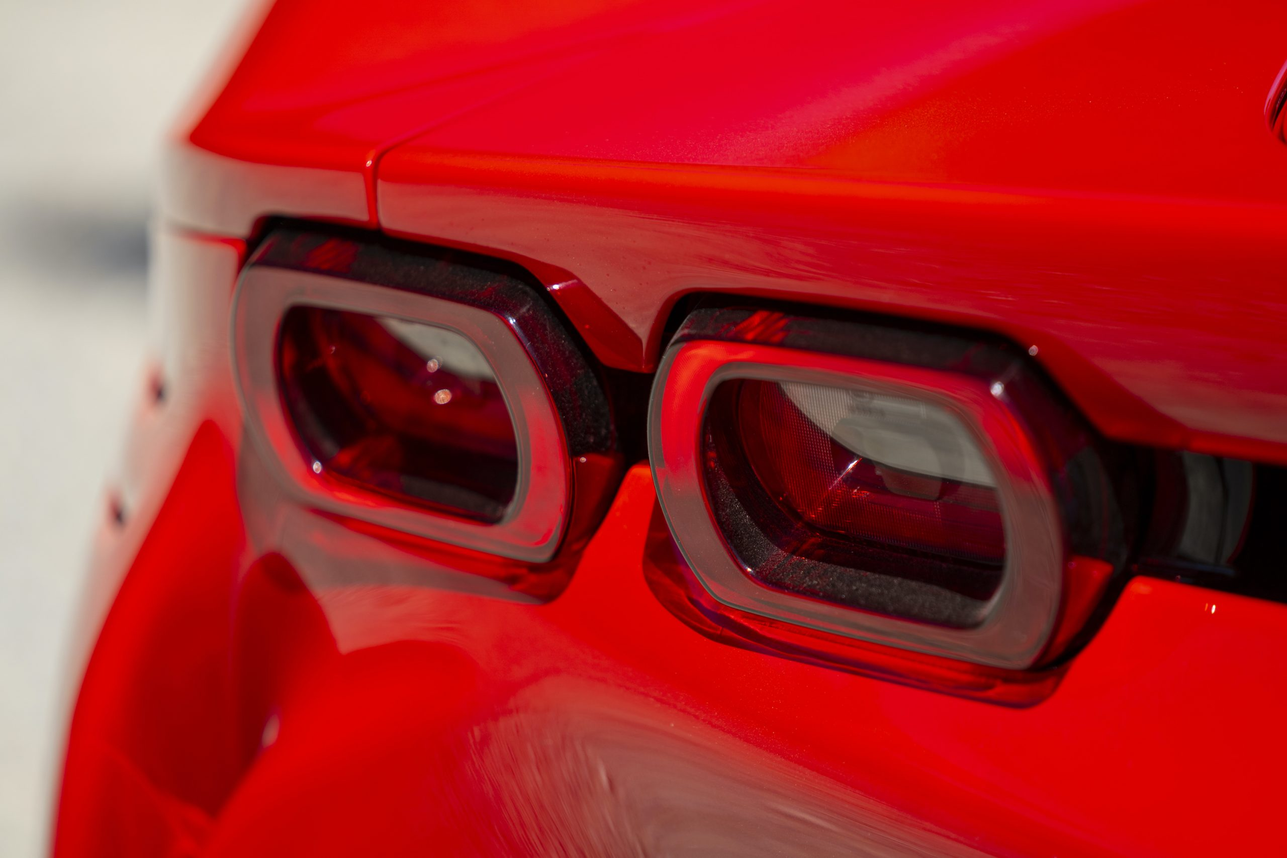 SF90 Stradale taillight
