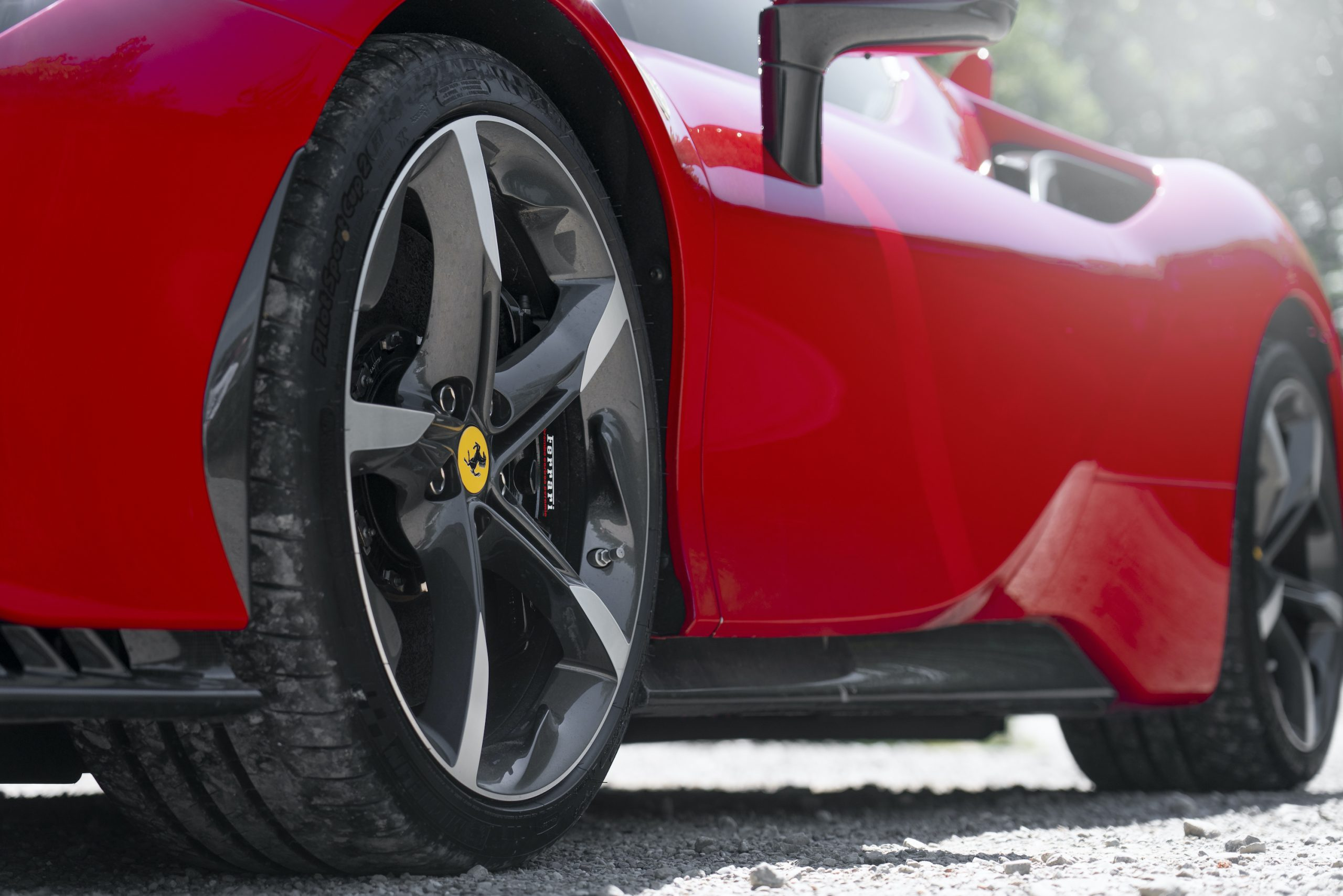 SF90 Stradale side close